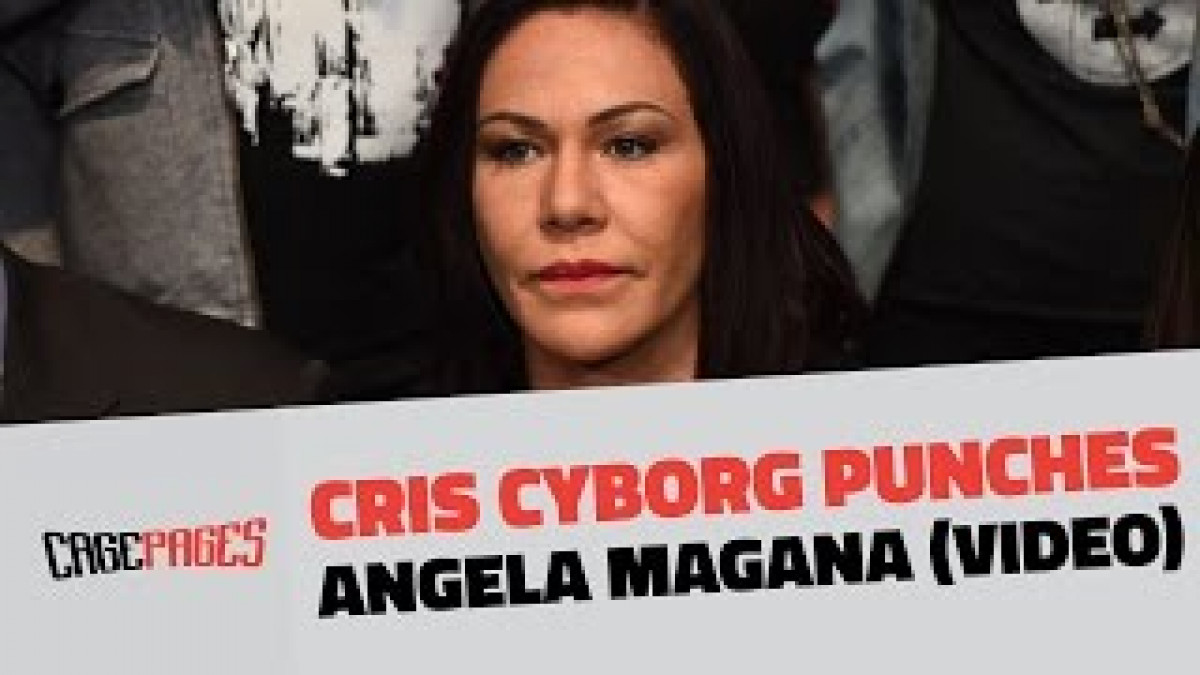 Angela Magana Uncensored video surfaces of cris cyborg punching angela magana, magana